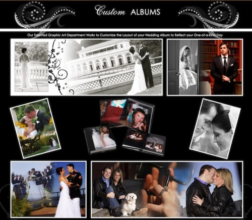 custom wedding albums hi tech studios of great neckcustom wedding